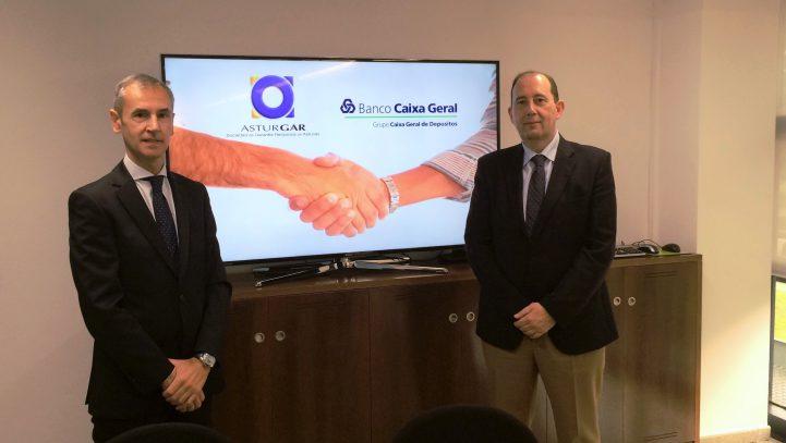 Banco Caixa Geral y Asturgar firman un acuerdo de colaboración
