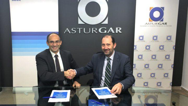 ASTURGAR y BBVA renuevan su apoyo a las necesidades financieras de las empresas asturianas