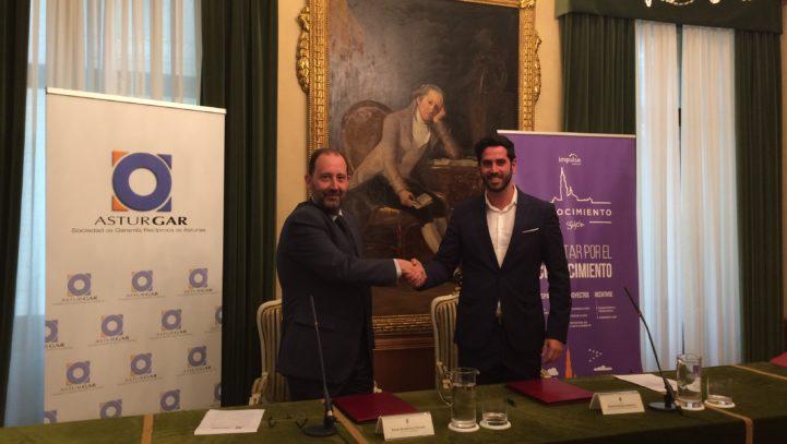ASTURGAR y Ayuntamiento de Gijón se unen para facilitar la financiación de las empresas y autónomos del municipio