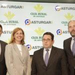 Asturgar SGR y Caja Rural destinan 10 millones de euros para financiar empresas asturianas