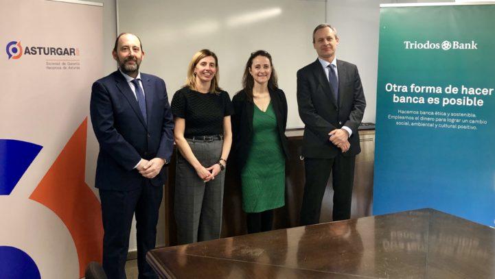 Triodos Bank y Asturgar SGR firman un convenio de colaboración para la financiación de empresas asturianas