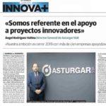 """""""Somos referente en el apoyo a proyectos innovadores"""""""