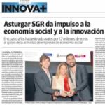 Asturgar SGR da impulso a la economía social y a la innovación