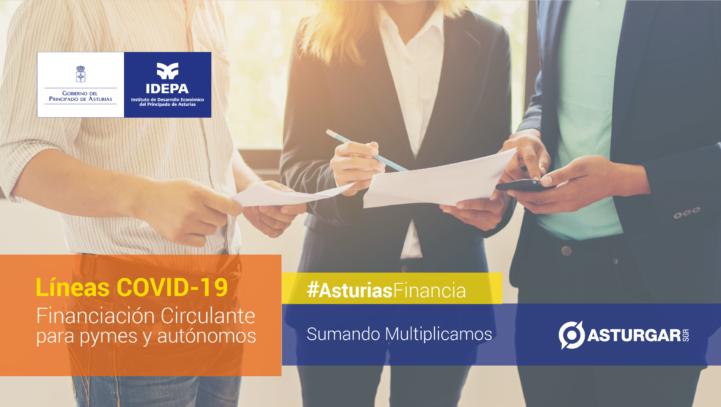 La línea de liquidez COVID-19 de Asturgar SGR ya ha concedido 1.770.000 euros en avales a 49 pymes y autónomos asturianos