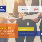 Asturgar inyecta 4,4 millones de euros a pymes y autónomos para frenar el impacto económico de la Covid-19